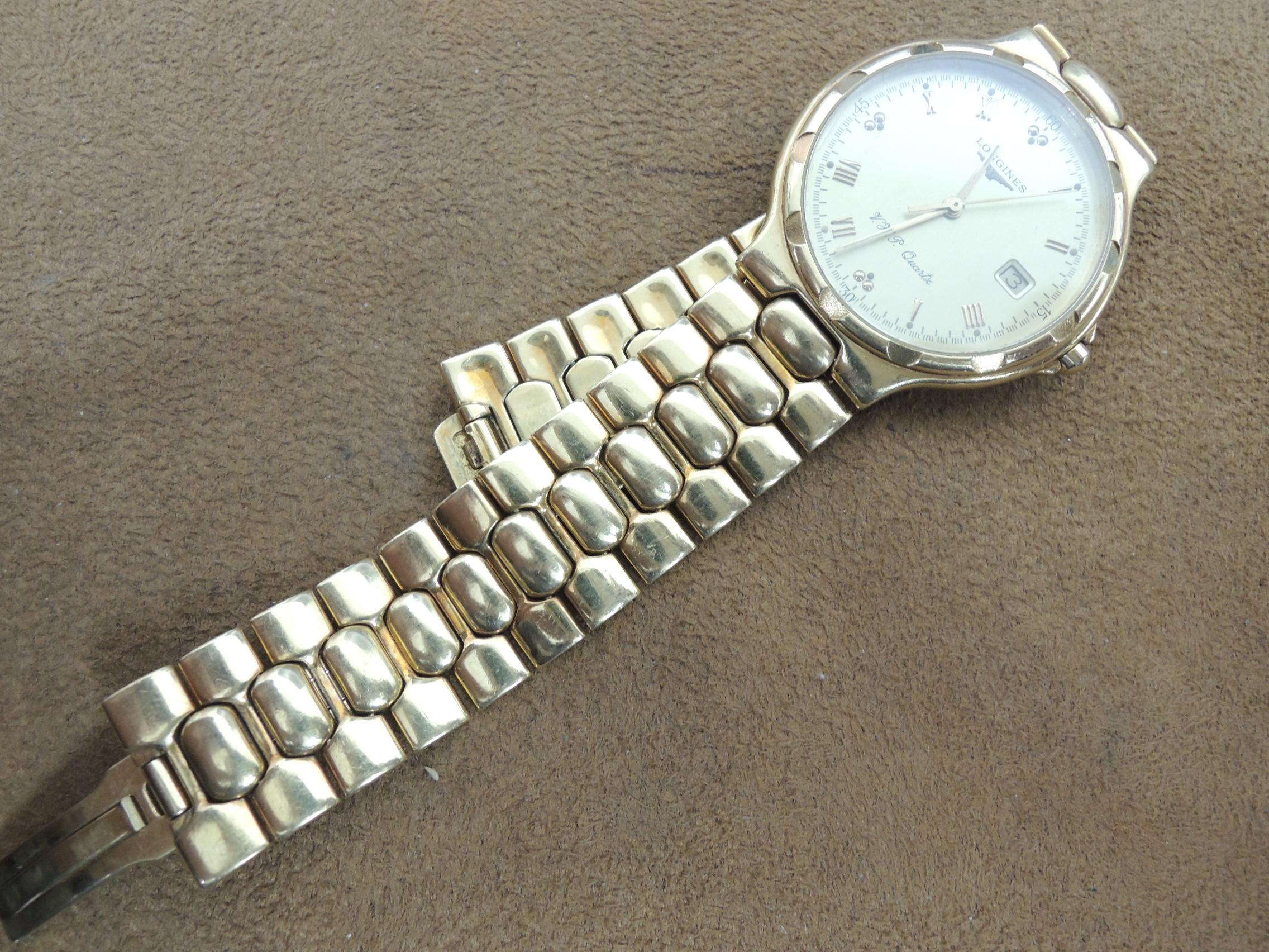 super popular 4b818 bca1a ロンジンのベルト修理   時計修理 リペア Watch事業部